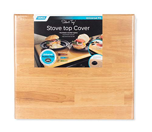 Camco Oak 43521 Universal Stove Top Cover-19-5/8 x 17-1/2