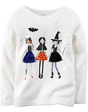 Baby Girls' Halloween Graphic Tee (Baby)