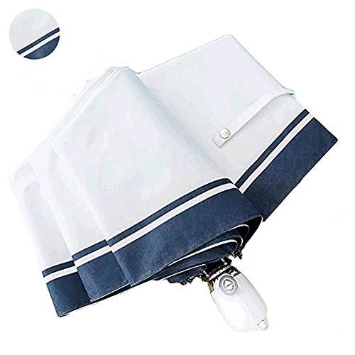 ROSYCORAL Outdoor Travel Sun & Rain UV Protection Parasol Umbrellas Lightweight Folding Auto Open Close Cute Rain Protection Golf Umbrella for Women
