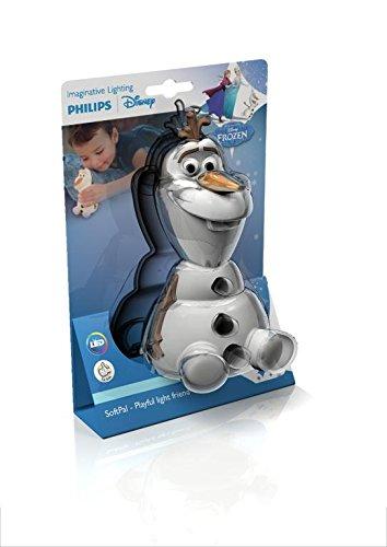 Philips 799965 Disney Olaf SoftPal Portable Night Light, White, 12,
