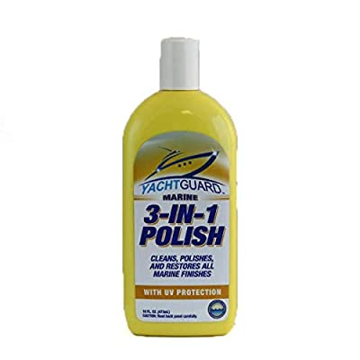 YachtGUARD 3-in-1 Polish & Color Restorer: Sports & Outdoors