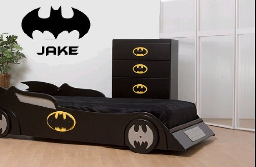 (LARGE) BATMAN U0026 PERSONALISED NAME BEDROOM VINYL WALL ART DECAL STICKER  LARGE 14 COLOURS AVAILABLE: Amazon.co.uk: Kitchen U0026 Home Part 77