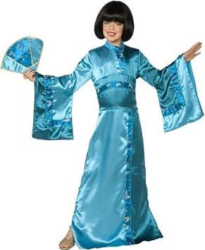 Disfraz de geisha para niña 8-10 años (146 cm): Amazon.es ...