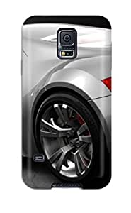 High Quality Shock Absorbing Case For Galaxy S5-audi Sport Silver Car Free Desktop Cars Audi by mcsharks
