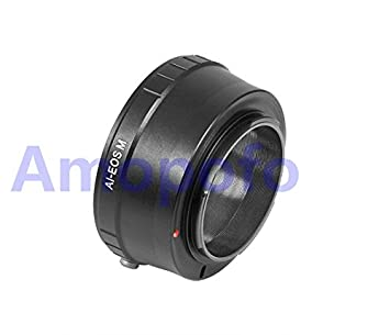 Amazon com : AI-EOS M Adapter Nikon Ai Mount Lens to Canon