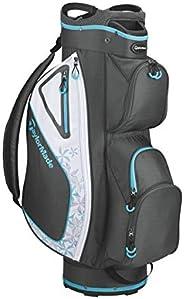 TaylorMade Ladies Kalea Cart Bag 2020 Charcoal/Blue