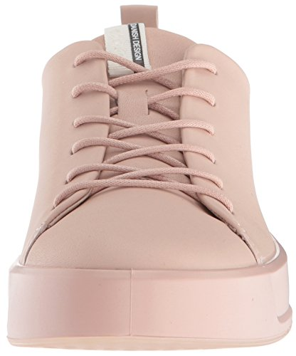 Ecco Womens Soft 8 Tie Fashion Sneaker Rose Dust