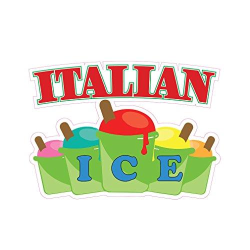 Italian Ice Concession Restaurant Die-Cu - 10