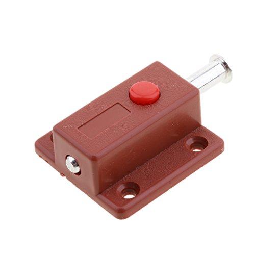 MagiDeal Motorhome RV Trailer Camper Cabinet Desk Drawer Keyless Latch Lock Button
