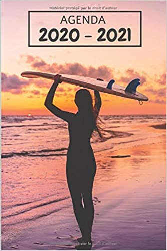 Amazon.fr   Agenda 2020   2021: Agenda scolaire 2020   2021 surf