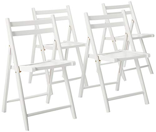 Winsome Robin 4-PC Folding Set White Chair