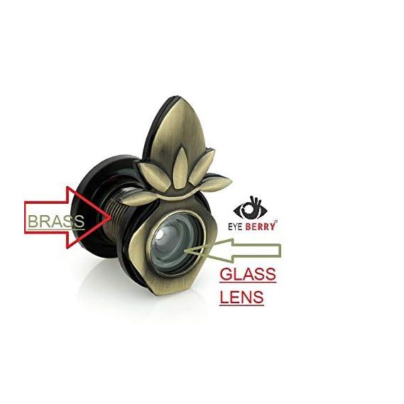 Eye Berry Brass Standard Door Viewer