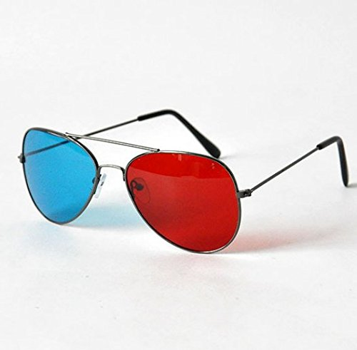 b0518d96541 Galleon - 3D Glasses Direct-3D Glasses - Nvidia 3D Vision Ultimate Anaglyph  3D Glasses - Made To Fit Over Prescription Glasses