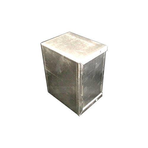 BUD Industries CU-3005-A Aluminum Electronics Minibox, 5 Length x 4 Width x 3 Height, Natural Finish
