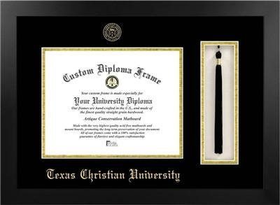 Texas Christian University Tassel Diploma Frame by Diploma Frame Deals