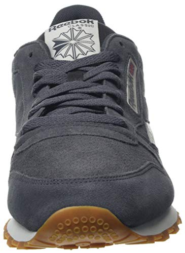 Grey Grey Reebok ash chalk Cl Leather chalk gum gum Sg Mu Gris De Hombre sg ash Gimnasia Zapatillas Para aP55nrZ