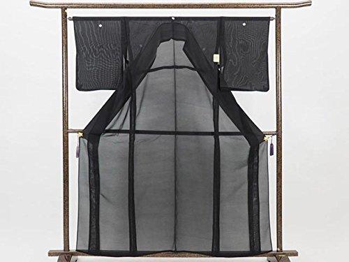 もう一度ガイダンスあたりリサイクル喪服/正絹夏物絽黒紋付(喪服)(黒紋付 葬式用着物リサイクル着物)【ランクA】