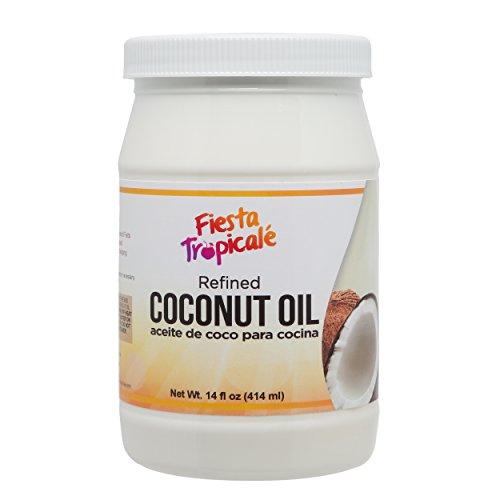 Fiesta Tropicalé Coconut Oil, Refined, 14 Ounce