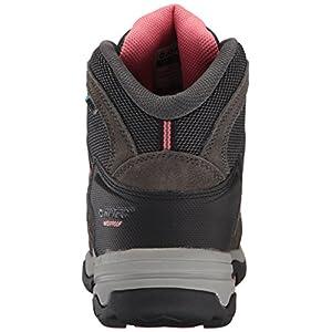 Hi-Tec Women's Bandera Mid II Waterproof Hiking Boot, Charcoal/Graphite/Blossom, 7 M US