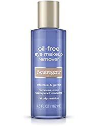 Neutrogena Oil-Free Gentle Eye Makeup Remover, 5.5 Fl. Oz. (Pack of 3)