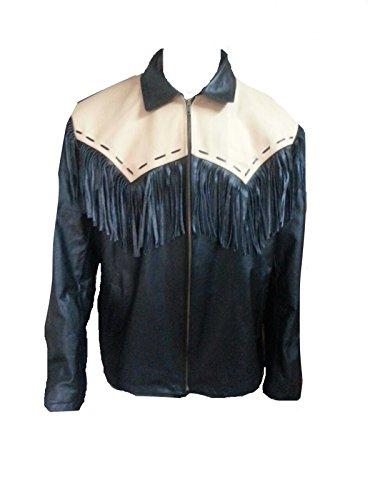 Giacca Leather Suede Black Uomo brown Bestzo OBdq87HxwO