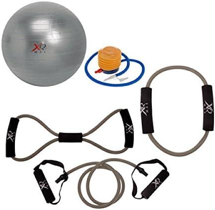Fitness Set, gimnasia – Set Sport Expander Pilates pelota: Amazon ...
