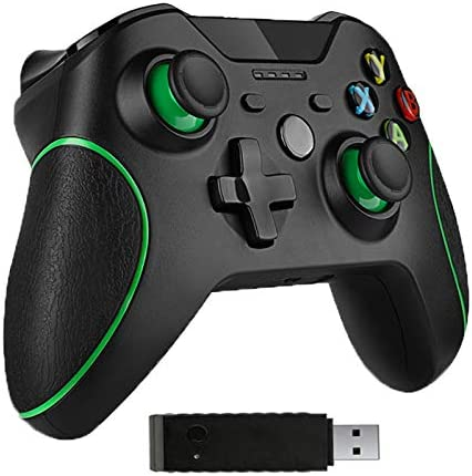 Wireless Controller for Xbox One, Compatible with Xbox One S, One X, One Elite, PS3, PC Windows 10, Android Phone,Built-in Dual Vibration
