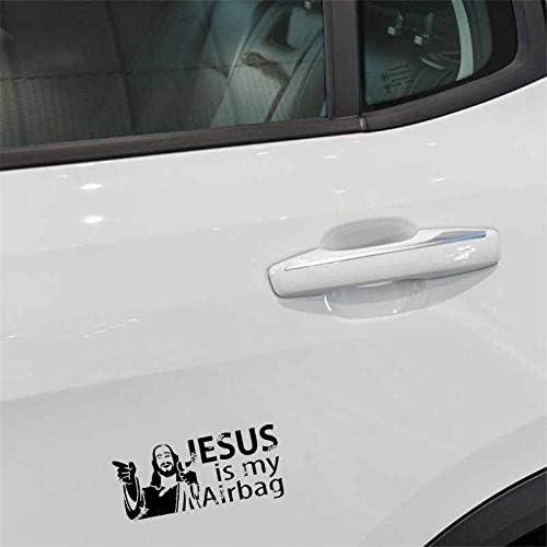 Color : Black Cvxgdsfg Ges/ù /è il mio adesivo for moto da auto for airbag