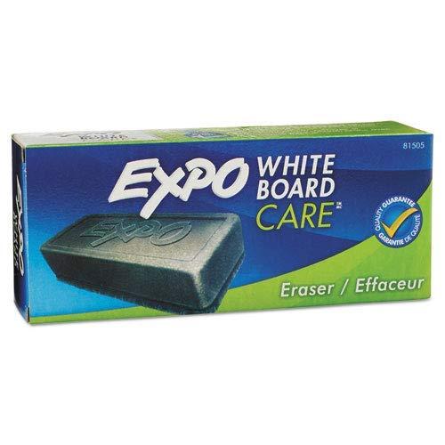 Expo Block Eraser 81505 Dry Erase Whiteboard Board Eraser, Soft Pile, 5 1/8 W x 1 1/4 H - Pack of 8