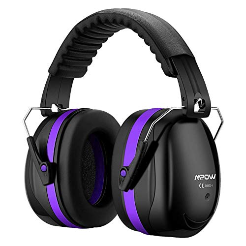 - Mpow 035 Protective Earmuffs, Shooters Hearing Protection Ear Muffs, Adjustable Shooting Ear Muffs, NRR 28dB Professional Ear Defenders for Shooting Hunting Season, with a Carrying Bag