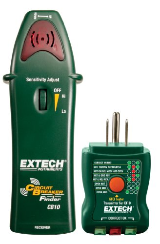 Extech CB10 Circuit Breaker Finder - Ideal Circuit Tracer