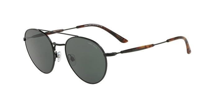 Armani Giorgio 0AR6075, Gafas de Sol para Hombre, Matte Black, 53