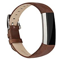 Fitbit Alta HR and Alta Bands Leather, Vancle Leather Band for Fitbit Alta HR and Fitbit Alta Strap