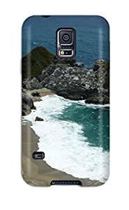 9671262K21753591 Galaxy S5 Well-designed Hard Case Cover Beach Protector