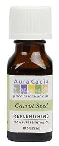 Aura Cacia Essential Oil, Replenishing Carrot Seed, 0.5 fluid ounce