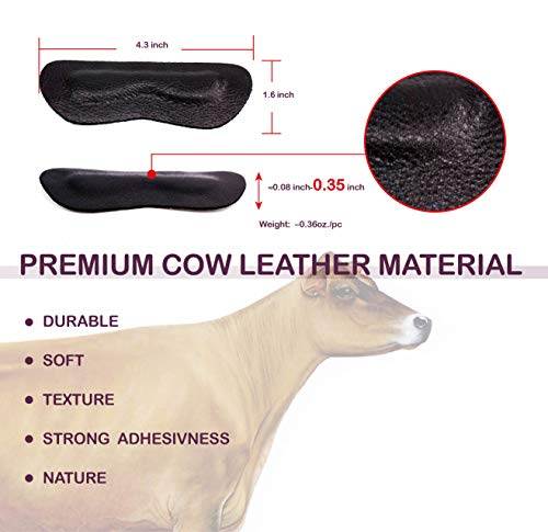 Premium Leather Heel Pads Grips Liners Inserts for Shoes Too Big,Unisex Prevent blisters,Shoe Fill - http://coolthings.us