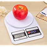 BUYERZONE Electronic Digital 10 Kg Weight Scale Kitchen Weight Scale Machine Measure for Measuring Fruits,Spice,Food…
