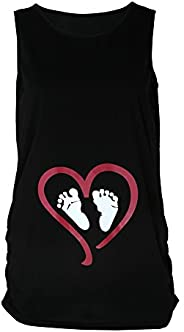 FDelinK Pregnancy Shirt Collection - Mom to Be Funny Maternity Tank Top