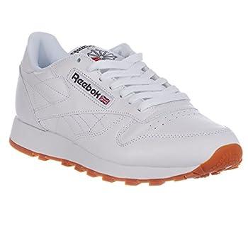 Reebok Men's Classic Leather Sneaker, Whitegum, 9 M Us 3