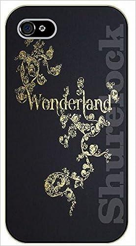 Iphone 5c Floral Wonderland Black Plastic Case Walt Disney And