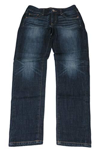 American Eagle Outfitters Women's Boy Fit Denim Blue Jeans (2)