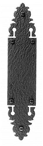 Acorn 2-1/2 Inch x 12 Inch Warwick Push Plate Rough Iron