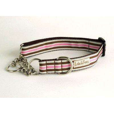 Lola and Foxy Kona Stripe Martingale Dog Collar