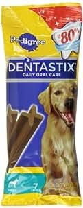 PEDIGREE DENTASTIX Original Large Treats for Dogs - 6.07 oz. 7 Count (Pack of 10)