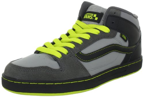 Vans Edgemont VNJ66KF - Zapatillas clásicas de ante para hombre Gris