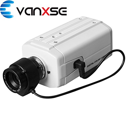 Vanxse® Cctv Effio-e 1/3 Sony CCD 960h Auto Iris 1000tvl 3.5-8mm Bullet Box Camera Surveillance Security Camera