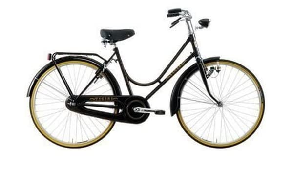 Bicicleta Vintage 26 Mujer Mod.Erre Vicini Col.Negro: Amazon.es ...