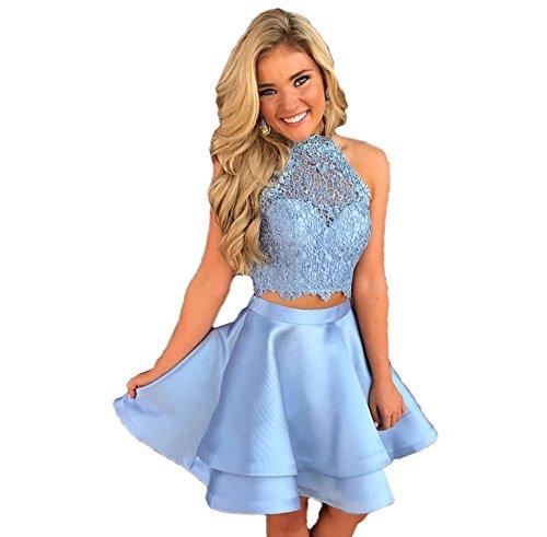 Blue 2 Prom Dress - 2