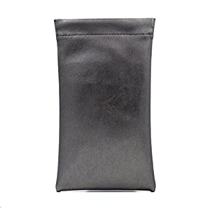 Sunglass Pouch & Eyeglass Pouch   A Medium To Oversized Sunglasses Case   Squeeze Top XL Eyeglass case   CT8 Smooth Grey