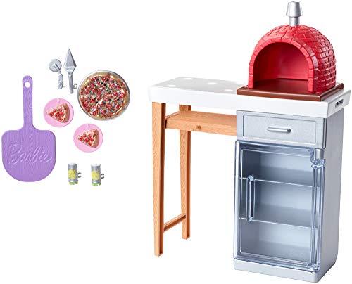 Barbie FXG39 Meubels & Accessoires – Pizza oven